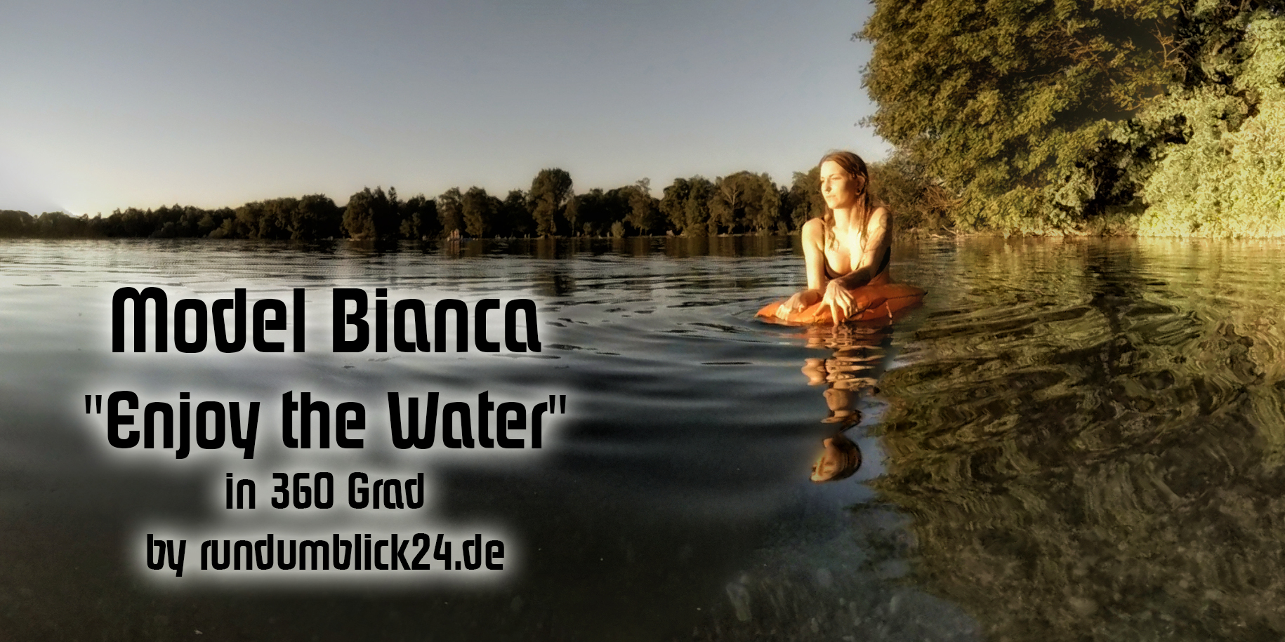 Model Bianca Enjoy the Water