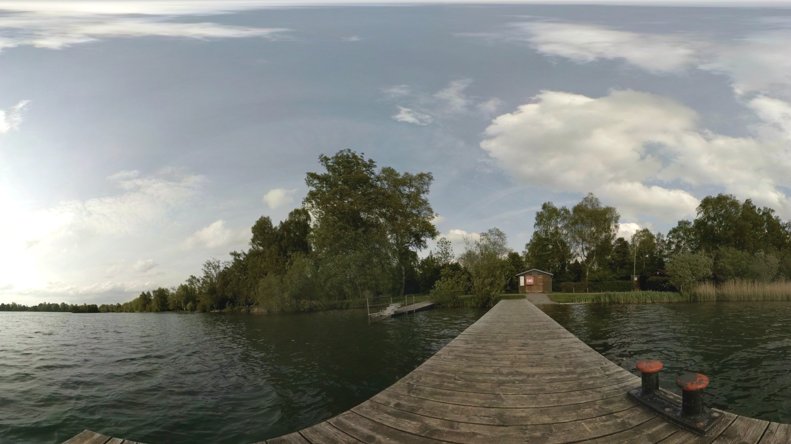 Olchinger See 360 Grad Video